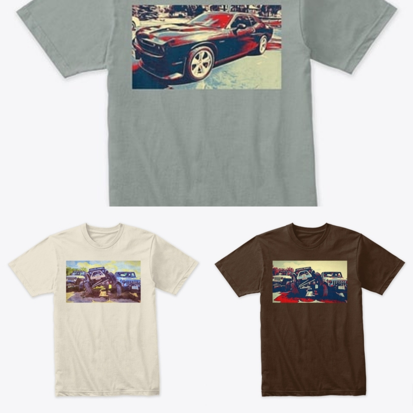 Add for car T shirts