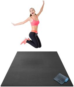 Affiliate link to workout premium exercise mat.