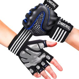 Purchase Omeril workout gloves with wrist support