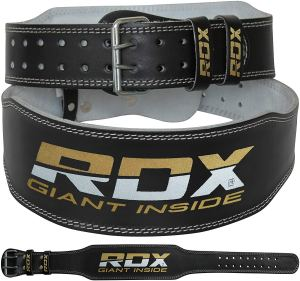 Purchase RDX Weight lifting belt.  Support for heavy lifting.