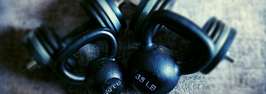 Kettle Bell, grey rug, free weights