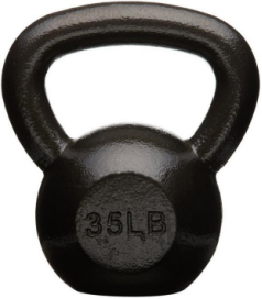 Affiliate link for cast iron kettle bell, workout equipment